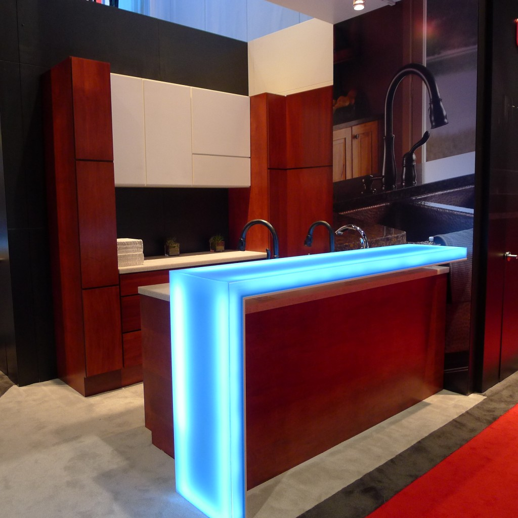 Delta Faucet display at KBIS 2014