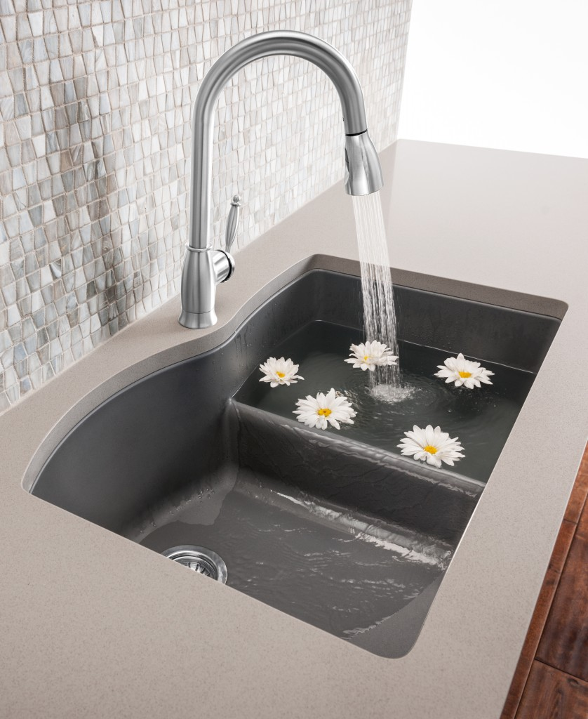 BLANCO's new DIAMOND™ Low Divide sink